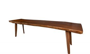 Restaurant Table Natural Edge Acacia Wood