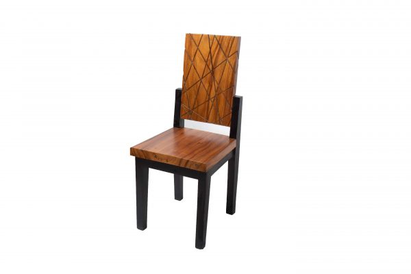 solid acacia wood dining chairs