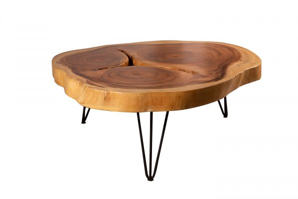 live edge acacia coffee table