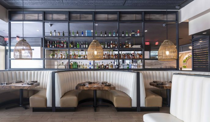 acacia live edge restaurant tables