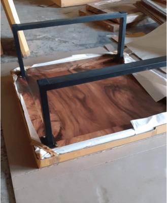 acacia wood table packaging