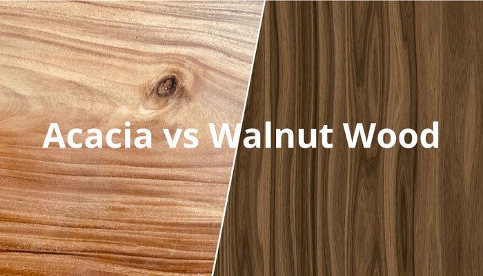 acacia vs walnut wood