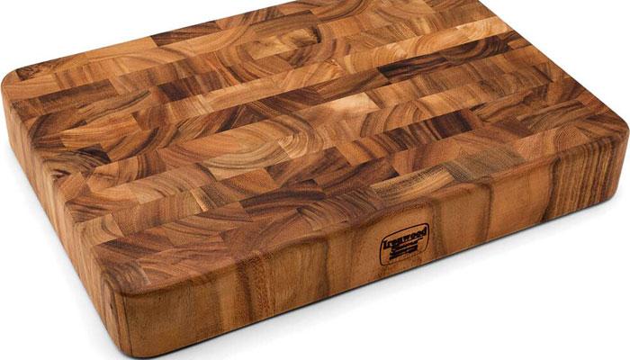 acacia edge grain butcher block