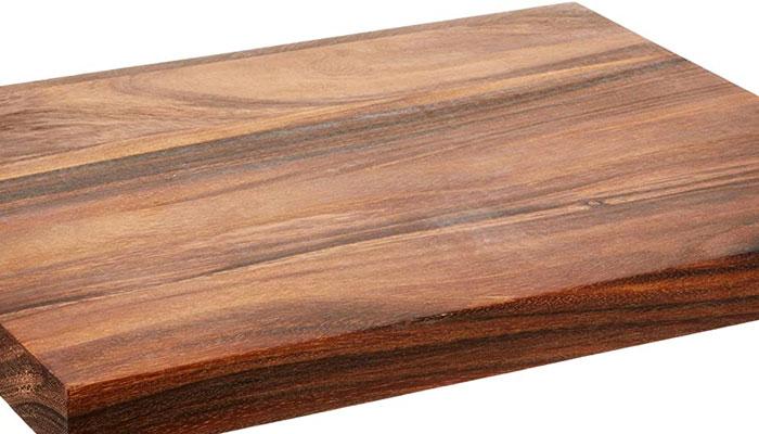 acacia face grain butcher block