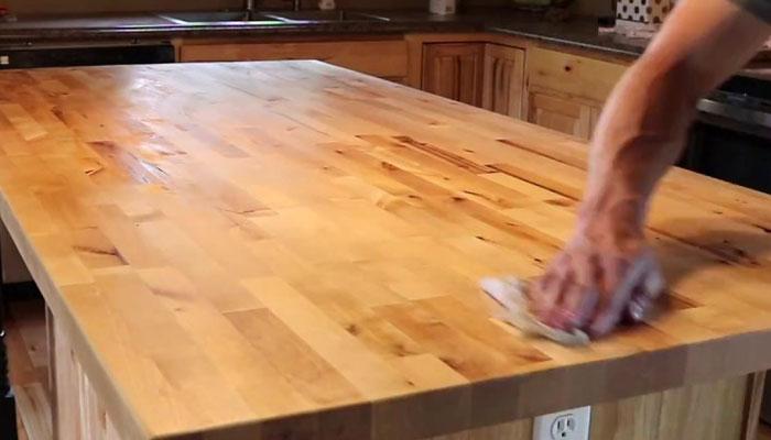 butcher block countertop maintenance
