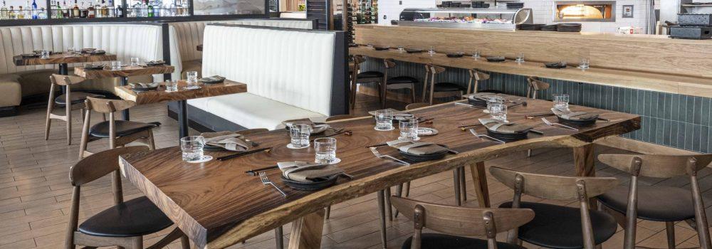 acacia wood commercial restaurant furniture